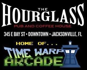 Hourglass Pub and Coffee Shop with Arcade in Downtown Jacksonville FL